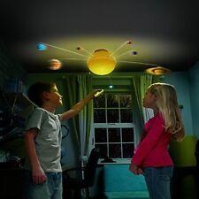 Éclairage système solaire kids science lumineux jouet astronomie planètes avec r/c