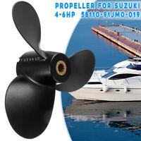 7 1/2 x 6 1/2 Alu Propeller für Suzuki Außenborder Outboard 4-6PS DF4 DF6