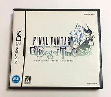 USED Nintendo DS Final Fantasy Crystal Chronicles Echoes of Time JAPAN import