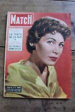 Paris Match N°277 1954 Indochine Rimbaud Bobet Siamoises Hollandaises