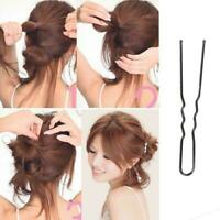 40pcs U Shape Hair Clips Bobby Pins For Women Bride Styling Accessories. E6P1