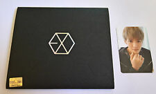 EXO M 1st Mini Album MAMA. Korea Press CD Chinese Ver. Booklet - Kris Photocard