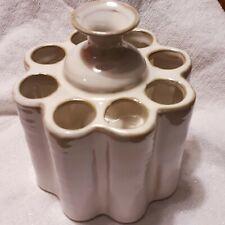 Ceramic Flower Vase Beige Color