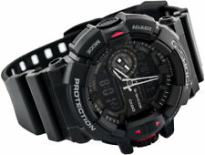 Casio G-Shock Mens Wrist Watch GA400-1B  GA-400-1B Black Analog-Digital Rotary