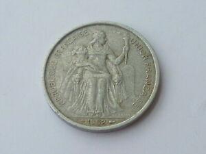 Vintage ! 1 pc Francs / France 1952 -5 Francs aluminum coin (#143-M)