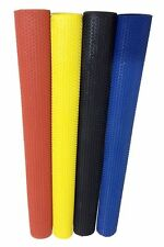 4 X Octopus Cricket Batting Grip In Rubber For Bat Handle Black Blue Yellow Red