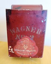 Safe Light Kodak F.W. Wagner No. 2 Tin Oil Kerosene Darkroom Early Advertising