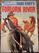 Zane Grey's Forlorn River Dell Comic Book #395 36 pages 1952 Magazine Vintage