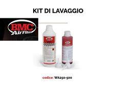 KIT PULIZIA LAVAGGIO FILTRO ARIA SPORTIVO BMC OLIO LIQUIDO BMC WA250-500