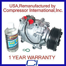 1997-2001 Honda Prelude OEM Reman A/C Compressor