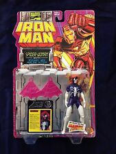 SPIDER-WOMAN w/ Psionic Web - Iron Man - TOY BIZ 1995