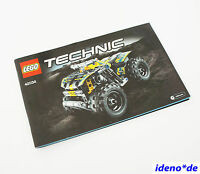 LEGO BAUANLEITUNG Technic Technik 42034 Buggy Action Quad  Neu TOP No PARTS