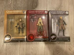 Funko Legacy Collection Game of Thrones Lot Daenerys Tyrion and Ned Stark GOT!