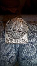 Cypress Hill Vintage Metal Pin Skull Pot Leaf