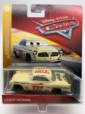 "Disney Pixar Cars Diecast Leroy Heming Doc's Racing Days ""RARE"""