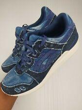 Asics Gel Lyte III Size 8.5 H7D3N Indigo Blue Indigo Blue DENIM