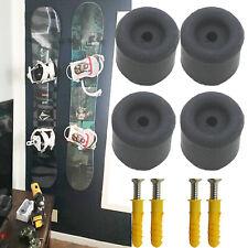 Snowboard Wall Mount Storage, Floating Hanger Rack, Minimalist Snowboard Display