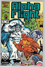 Alpha Flight #38 1986 (C5954) Marvel