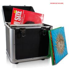 Power Dynamics 171.823 Black LP Vinyl Record Case 100x 12 Inch