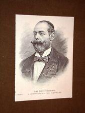Lord Randolph Henry Spencer Churchill Padre di Winston Churchill