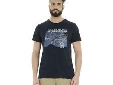 Magliette da uomo Napapijri con girocollo taglia XXXL