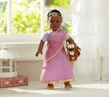 Pottery Barn Doll 18� Prita India ~ Special Edition ~ New In Box ~ Box Has Dings