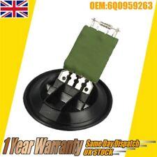 Fan Heater Resistor For VW Polo MK4/MK5 9N 6R,Fox 5Z,Skoda Fabia 6Q0959263