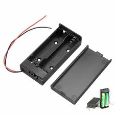 18650 Battery Box Rechargeable Battery Holder Board with Switch for 2x18650