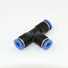 Pneumatic Tee Union Nylon Tube OD 4mm One Touch Push In Air Fitting Quality