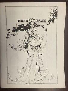 Colour Your Dreams Art Book Jeff Jones Wrightson Kaluta 1972