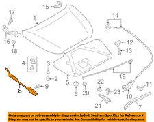 SUBARU OEM 12-13 Impreza Hood-Protector Left 57256FJ010