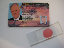 Dexter Arthur Mitchell Driver's License &  Blood Slide - Trinity -Prop - Cosplay