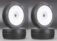 NEW Pro-Line 1/8 Scale Buggy Blockade X3 Mounted Tire / Velocity Wheel (4) Pr...