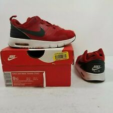 Nike Air Max Tavas (TDE) Red/Black/White Toddler Size 9c
