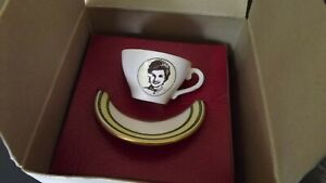 1991 30th Birthday Diana Princess of Wales small  Caverswall China cup & saucer