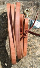 Top Quality Heavy Duty Herman Oak Leather Roping Reins. Quality Tack