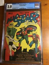 ALL STAR COMICS #2 CGC 2.0 Off White to White Pages