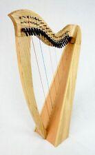 EMS 22 String Heritage Student Harp in Ash plus Padded Bag + Harp Tutor Book