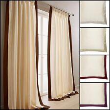 Harlington Lined Faux Silk Tape Top Curtains Range - Free Postage