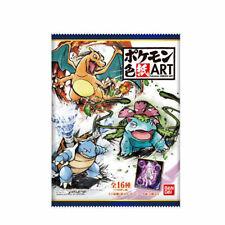 New Japanese Bandai Pokemon Part 1 Shikishi Art Board 1 Pack