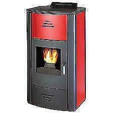 Norrlands 240 Volt Pellet Burner Biomass Stove Workshop Heater Woodburner