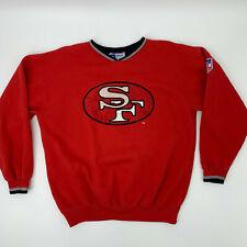 Vintage San Francisco 49ers Starter Sweater Men's Size XL Big Logo Pullover 90s