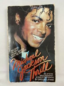 Michael Jackson Thrill Paperback by Caroline Latham