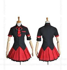 Anime Blood-C Kisaragi Saya Girl Cloth Uniform Cosplay Costume Custom-Made