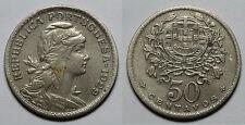 PORTUGAL.    50 CENTAVOS 1929.  OXIDACIONES.   MBC -