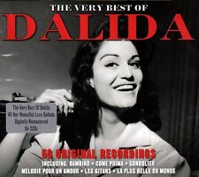 DALIDA - THE VERY BEST OF - 50 ORIGINAL RECORDINGS (NEW SEALED 2CD)