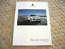 PORSCHE CAYENNE V6 V8 S HYBRID TURBO PRESTIGE SALES BROCHURE 2010 USA EDITION