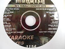 Karaoke Monster Hits 1154 1CD+G,Deana Carter,Patty Loveless,Trisha Yearwood ++++