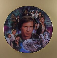 Star Wars Portrait Collage Plate Collection Han Solo Movie Tv Hamilton Coll