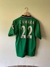 Liverpool Away 1999/00 Football Shirt Small #22 Camara